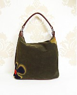 Kabelky - Prírodná kožená kabelka Maťka s kvetom - 3541720