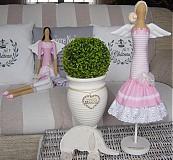Bábiky - Ružový ihelník - 3551342