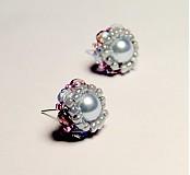 Náušnice - Vintage Pearls - 3554174