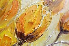 Obrazy - Žlté tulipany - 3555464
