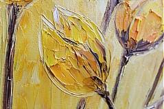 Obrazy - Žlté tulipany - 3555465