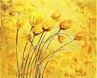 Obrazy - Žlté tulipany - 3555470