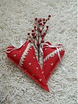 Úžitkový textil - Srdiečka z babičkinej truhlice - 3561513