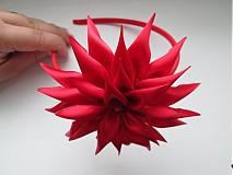Ozdoby do vlasov - Čelenka Čerevená - 3561653