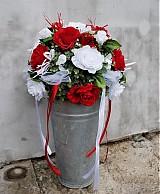 Svadobná dekorácia- guľa z ruží