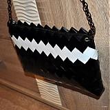 Kabelky - elegantná čierna ecoistka - 3567708