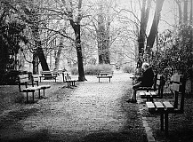 Fotografie - odpočinek v parku - 3569694