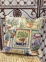 Úžitkový textil - ...vankúš bylinkový... - 3573291