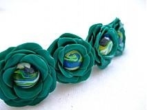 - Zelené kvetinky - 357807