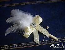 puntíkaté svadobné pierka pre rodičov I.