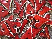 Dekorácie - malinkaté srdiečko - 3584272