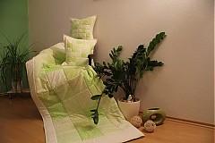 - patchwork deka a obliečka zelená  SET za super cenu - 3586043