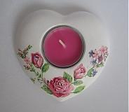- Svietnik -ružičky - 3590201