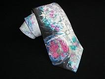 Hodvábna kravata Spaceman