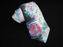 Doplnky - Hodvábna kravata Spaceman - 3595845