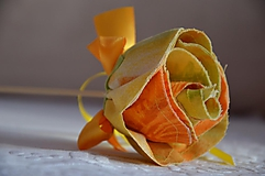 Dekorácie - Zapichovačka kvet ruža - 3599503