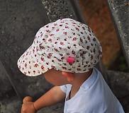 Detské čiapky - ŠILTOFKA bez plachtičky - na objednávku - 3600457