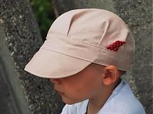 Detské čiapky - ŠILTOFKA bez plachtičky - na objednávku - 3600458