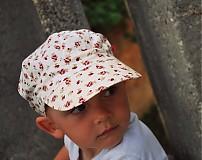 Detské čiapky - ŠILTOFKA bez plachtičky - na objednávku - 3600460