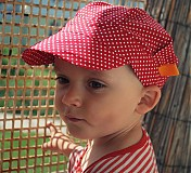 Detské čiapky - ŠILTOFKA bez plachtičky - na objednávku - 3600461