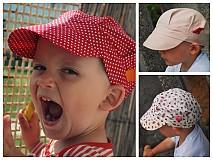 Detské čiapky - ŠILTOFKA bez plachtičky - na objednávku - 3600465