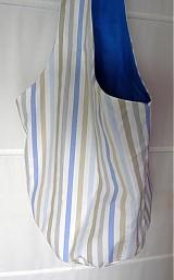Veľké tašky - Guľatá s modrým nádychom - 3602521