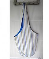 Veľké tašky - Guľatá s modrým nádychom - 3602527