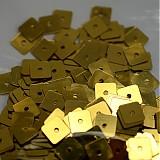 - Flitre štvorec 7 mm bal. 5 g - zlaté - 3607919