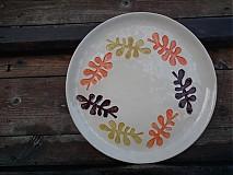Nádoby - Tanier Listy jeseň   28cm - 3611107