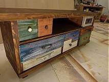 Nábytok - Tv stolík  č. 6 - 3611901