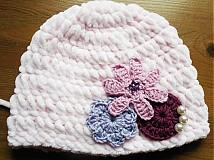 - Zimná mäkkučká čiapočka (upravená cena pre Lejla20) - 3612676