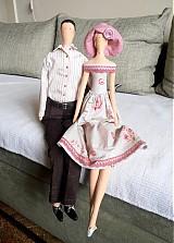 Bábiky - V romantickom duchu - 3612807