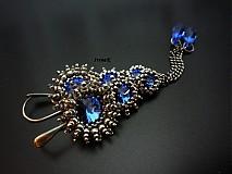 Náušnice - Sapphire - 3614548