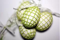 A príde jar .. biele vajíčko v zelenom šate :)