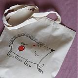 JEŽEK JDE NA NÁKUP - nákupní taška