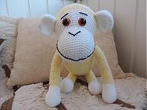 Hračky - slniečková opička :) - 3628980