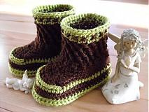 Topánočky - čižmičky krížik - 3631925
