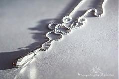 Náhrdelníky - ocelový náhrdelník s velkým pyritem - 3632062