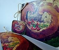 Papiernictvo - sada Ze srdce - pohlednice, záložka, magnetka - 3635076