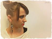 Náušnice - Som buldog a som romantik - 3641350