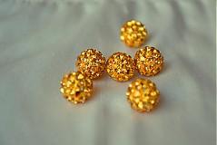 Korálky - shamballa korálky CZ kryštál colorado, 10mm, 0.25€/ks - 3643713