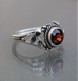 Prstene - Red spinel ring - 3645024