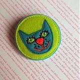 Odznaky/Brošne - Mačička - 3645278