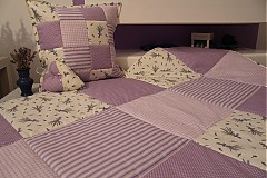 Úžitkový textil - patchwork deka 140x200 alebo 220x220 a vankúš za super cenu - 3657256