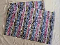 Úžitkový textil - Vo farbách dúhy 72x194cm - 3663777