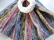 Úžitkový textil - Vo farbách dúhy 72x194cm - 3663781