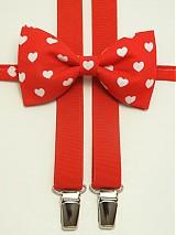 - Pánsky motýlik a traky Valentínsky špeciál - 3664322