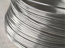 hliníkový drôt 2mm STRIEBORNÝ