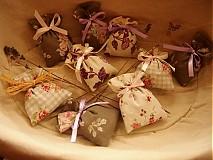 Darčeky pre svadobčanov - Mini levanduľkové vrecko - 3666065
