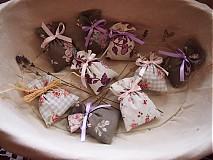 Darčeky pre svadobčanov - Mini levanduľkové vrecko - 3666066
